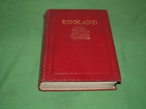 """""""England"""" by Frank Fox 1915 Hardback with 32 Full Colour Illustrations"""
