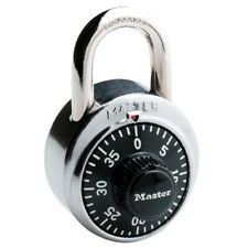 BRAND NEW MASTER LOCK 1500D 1-7/8in. (48MM) Combination Dial Padlock Black USA