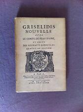PERRAULT - Griselidis Nouvelle Avec Le Conte De Peau D'Asne Et Celuy Des ...