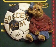 """Boyd's #26063 * Bearware Pin """"Soccer Mom.#1 Fan"""" Pin * Mint * Brand New"""