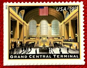 2013 US SC #4739 $19.95 Grand Central Terminal New York Express Mail mint