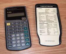 Texas Instruments (TI-30Xa) Handheld Scientific Calculator With Cover **READ**