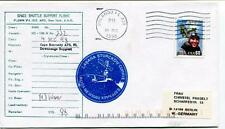 1998 Space Shuttle Support Flight Flown Via 102 ARS Nwe York Orlando Cabana USA