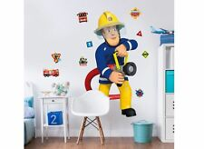 Fireman Sam Large Boys Wall Sticker & Additional Themed Stickers Kids Bedroom