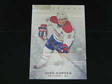2014-15 UD Artifacts Base Card #26 Josh Gorges Montreal Canadiens