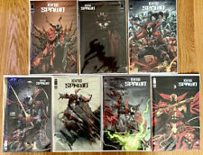 New listing King Spawn 1 Ungraded Set Covers A-G McFarlane, Capullo Free Shipping