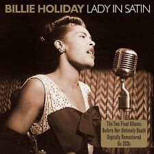 Billie Holiday - Lady in Satin - Two Final Albums 2CD 2011 NEW/SEALED