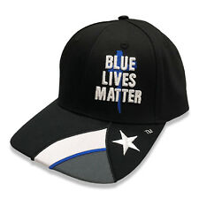 Blue Lives Matter Texas Cap