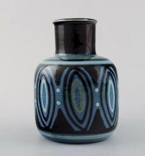 Kähler, Denmark, glazed stoneware vase. 1940s.