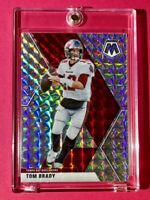 Tom Brady SILVER PRIZM MOSAIC REFRACTOR HOT TAMPA BAY INVESTMENT CARD - Mint!