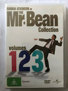 ROWAN ATKINSON IN THE MR. BEAN COLLECTION VOLUMES 1 2 3  DVD