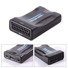 Qumox Scart auf HDMI Konverter Analog Digital Adapter 1080p Wandler HD USB Kable
