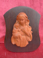 pretty,old Wood Picture_madonna_