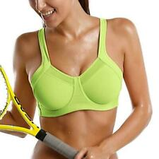 Women's Power Racer Back Level 4 Ultimate Support Underwire Sports Bra chic
