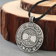 The Tree of Life Pendant Plant Necklace Lucky Viking Amulet Pendant NecklaceAUE