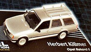 Opel Record C Caravan 1977-82 Silver Metallic 1:43 Designer Series H. Kill