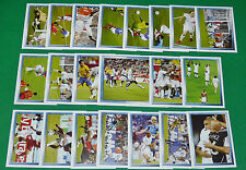 PANINI FOOTBALL FOOT 2007 COUPE MONDE 2006 N°538 à 560 COMPLET FRANCE 2006-2007