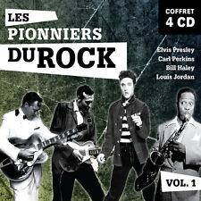 4 CD Elvis Presley Bill Haley Carl Perkins Louis Jordan
