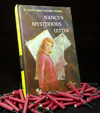 Vintage NANCY DREW Matte #8 Nancy's Mysterious Letter VERY GOOD