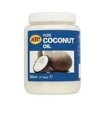 KTC 100% ACEITE DE COCO NATURAL - Comestible, cocinar, Hidratante cabello y piel
