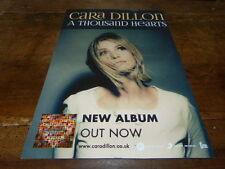 CARA DILLON - Publicité de magazine / Advert !!! A THOUSAND HEARTS !!!