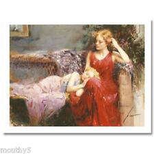 "PINO ""A MOTHER'S LOVE' NEW NUMBERED/HAND SIGNED GICLEE"