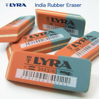 2 x Lyra Pencil & Ink Rubbers Erasers