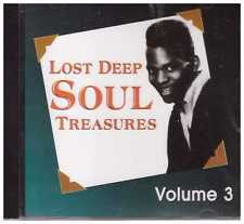 LOST DEEP SOUL TREASURES - CD - Volume 3 - BRAND NEW