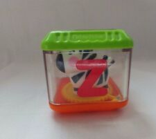 """Fisher Price Peek A Boo Block Alphabet Letter """"Z"""" for Zebra Replacement Toy"""