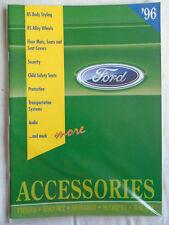 Ford Accessories range brochure 1996 ref CD 2650