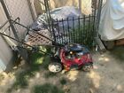 toro lawnmower no oil change needed only slightly used red good condition