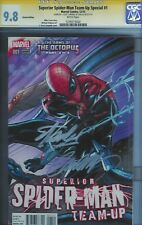 CGC SS 9.8 SUPERIOR SPIDER-MAN TEAM-UP SPECIAL #1 SIGNED BY STAN LEE & CAMPBELL