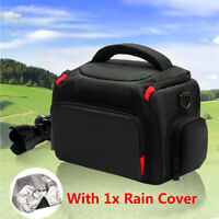 DSLR Waterproof Protective Shoulder Bag Set Carrying Case For Canon Nikon