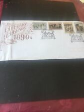 #155 Australia Fdc 10.10.1991 Literary Legends .Stamp.Cover.