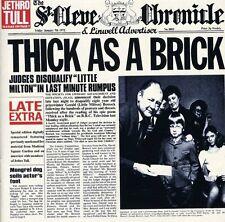 Jethro Tull - Thick As a Brick [New CD] Bonus Tracks