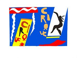 Henri Matisse - The Circus (lithograph, edition of 200)