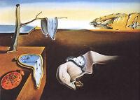The Persistence of Memory  A3 POSTER PRINT  Salvador Dali