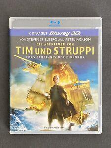 TIM UND STRUPPI +++ Blu-ray +++ 3D +++ Animation +++ sehr guter Zustand!