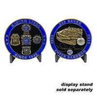 Yankees Mariano Rivera inspired NYPD tribute challenge coin police officer detec