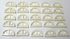 20 NEW LEGO White Bow Window 1X4X1 2/3 (20309/6173064) arch