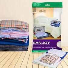 10Pcs GANJOY Travel Space Saver Bags No Vacuum Needed for Travel Set