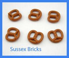 Lego nourriture - 6x bretzel pain boulangerie figurine-city castle hobbit-nouvelles pièces