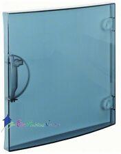 Porte transparente 1 rangée 13 modules Hager GP113T pour coffret électrique