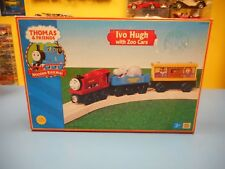 """RC2  LEARNING CURVE  THOMAS & FRIENDS  IVO HUGH WITH ZOO CARS   """"NEW"""""""