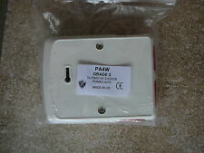 PA4W G3 ELECTRONIC CONFIRMABLE PA. 4-BUTTON WITH LED AND SELECTABLE RESISTOR