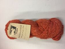 Juniper Moon Farm Moonshine knitting yarn. 100g skein in #07 Camp Fire