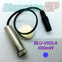 DIODO LASER 405nm BLU VIOLA PUNTO FUOCO REGOLABILE focusable diode blue-purple