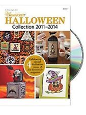 Just Cross Stitch 2011-2014 Halloween Collection CD New