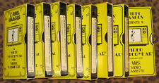 GROUP OF 8 WW2 VIDEO YESTERYEAR VHS TAPES -  SEE LISTING FOR COMPLETE DETAILS