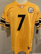 New Pittsburgh Steelers Ben Roethlisberger Inverted Football Jersey